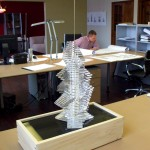 Architectural Model of Tower