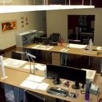 Oldham Hirst Design Work Area